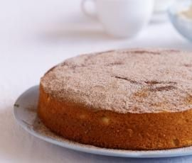 Easy Thermomix Australian cinnamon tea cake, as recommended by TOU Lana, her comments: simple but delish - do double it as it's quite a small mix, and if you're like me, you'll eat half of it from the bowl/spoon. I've also added half brown sugar for a slightly richer flavour