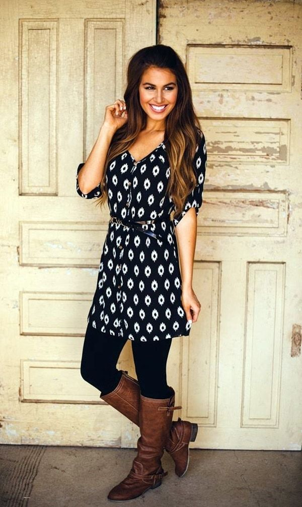 Casual Outfits With Leggings For Every Occasion: While there is a school of thought that believes that fashion is a demanding master or mistress with not