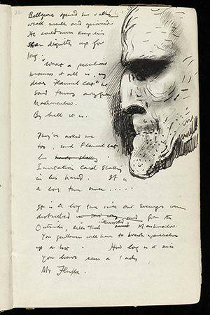 Mervyn Peake: Mervyn Peake Gormenghast notebook
