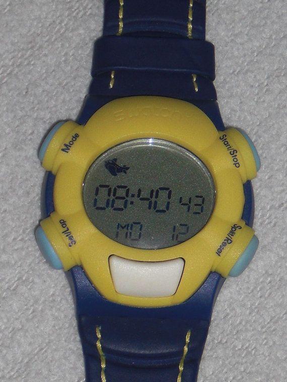 Sport Uhr Digitaluhr Swatch Beat Net-Time von nostalgiehauscom