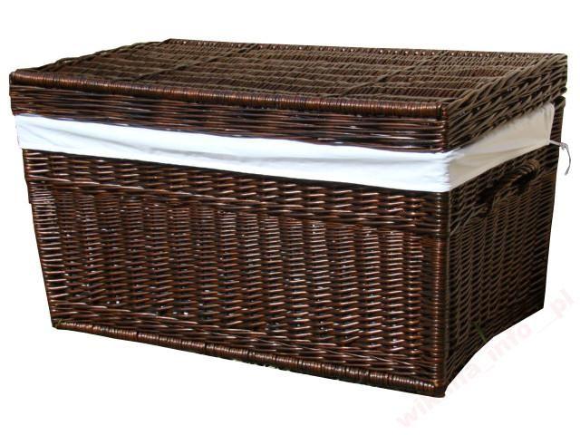 Kufer skrzynia wiklinowa