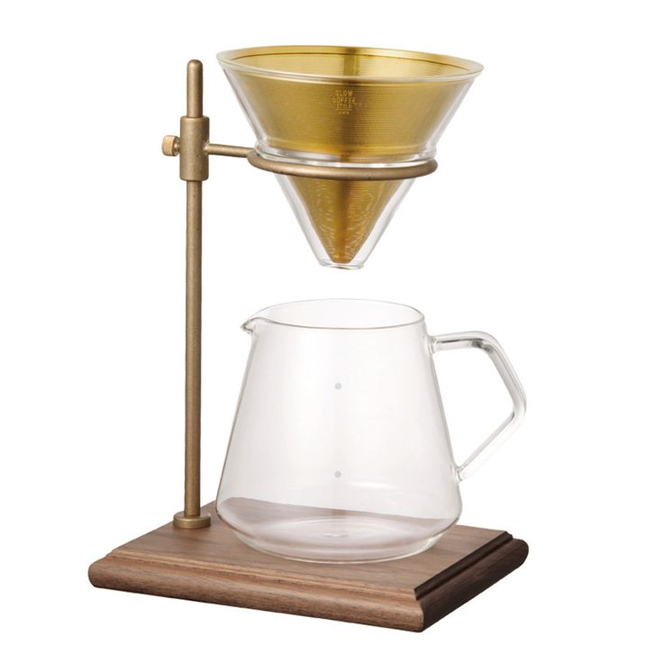 Brewer Stand Set - Red Sail - For those lazy brunch mornings when you want to luxuriate over your coffee. Made by Kinto in Japan.