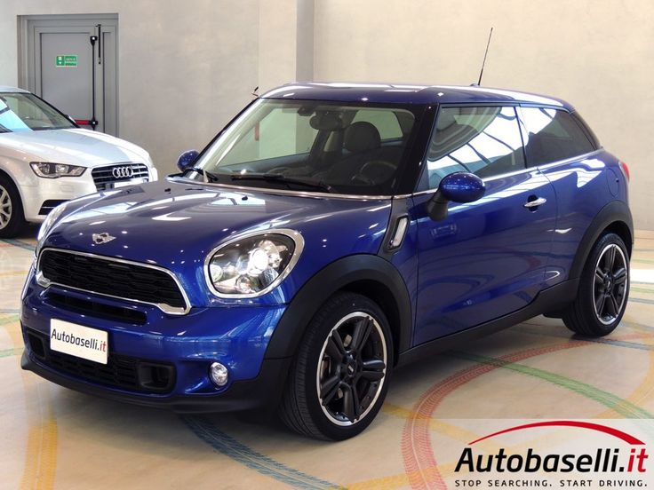 MINI COOPER PACEMAN SD AUTOMATICA Steptronic + Pad + Navigatore + Pelle + Bi-xeno + Bluetooth + Cruise control + Switch colour + Radio Mini visual boost + Voicetronic + Sensori di parcheggio + Cerchi in lega 18 + Comandi al volante + Unico proprietario + del 2014