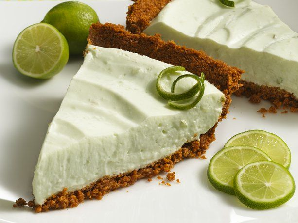 Low Cal/Fat Creamy Key Lime Pie with Fiber One (Cereal) Crust