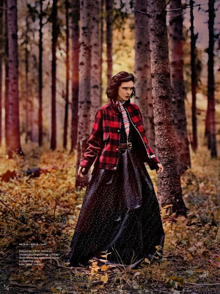 """Twin Peaks"" inspired editorial - ELLE Sweden"