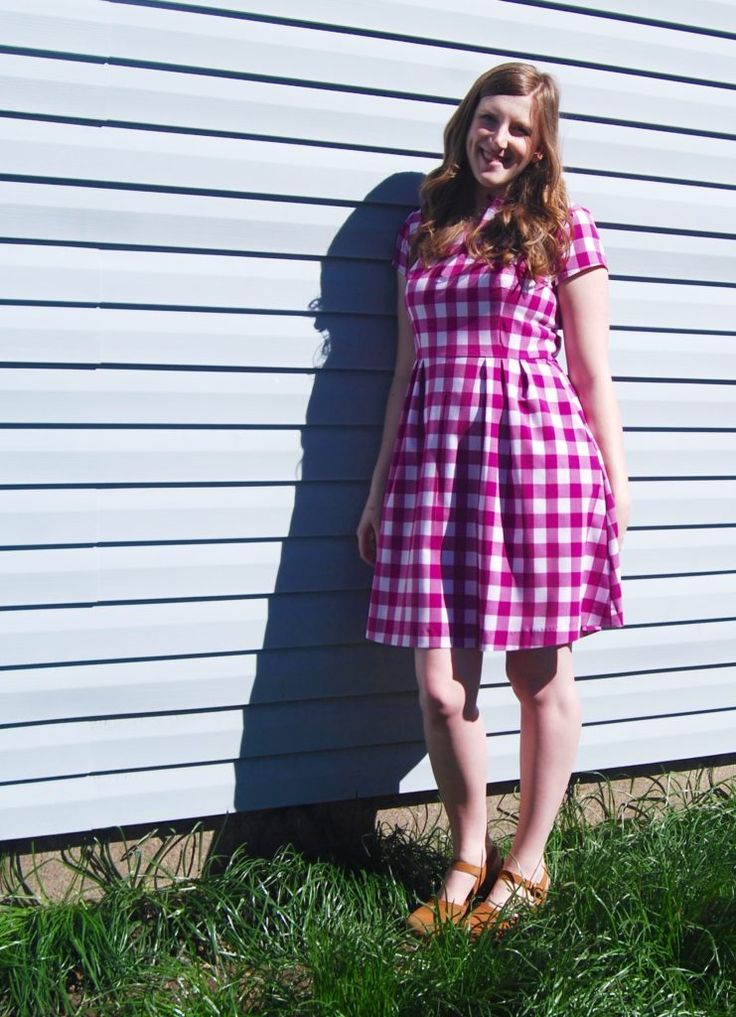 The Gingham Dress of My Dreams - The Crafty Disaster