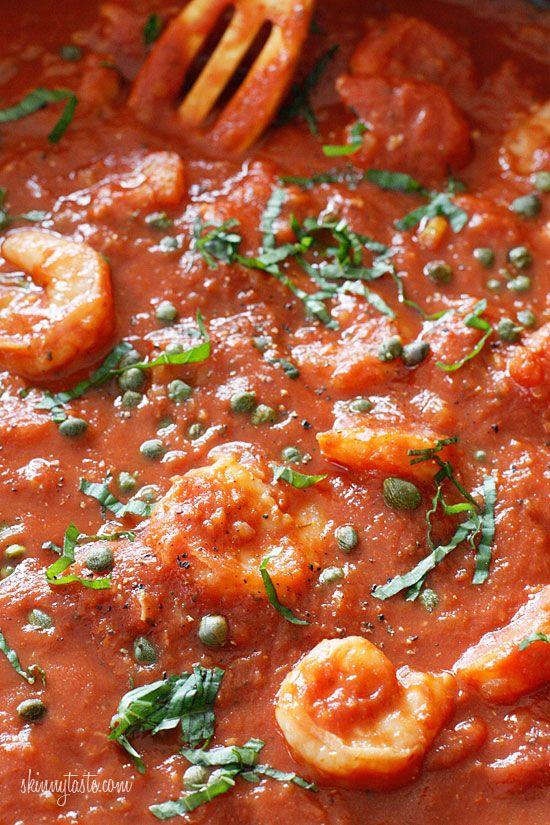 Linguini and Shrimp Fra Diavolo: Spaghetti Squash, Seafood Recipe, Italy Food, Shrimp Recipe,  Pizza Pies, Favorite Recipe, Shrimp Fra, Linguini Recipe, Heathi Recipe
