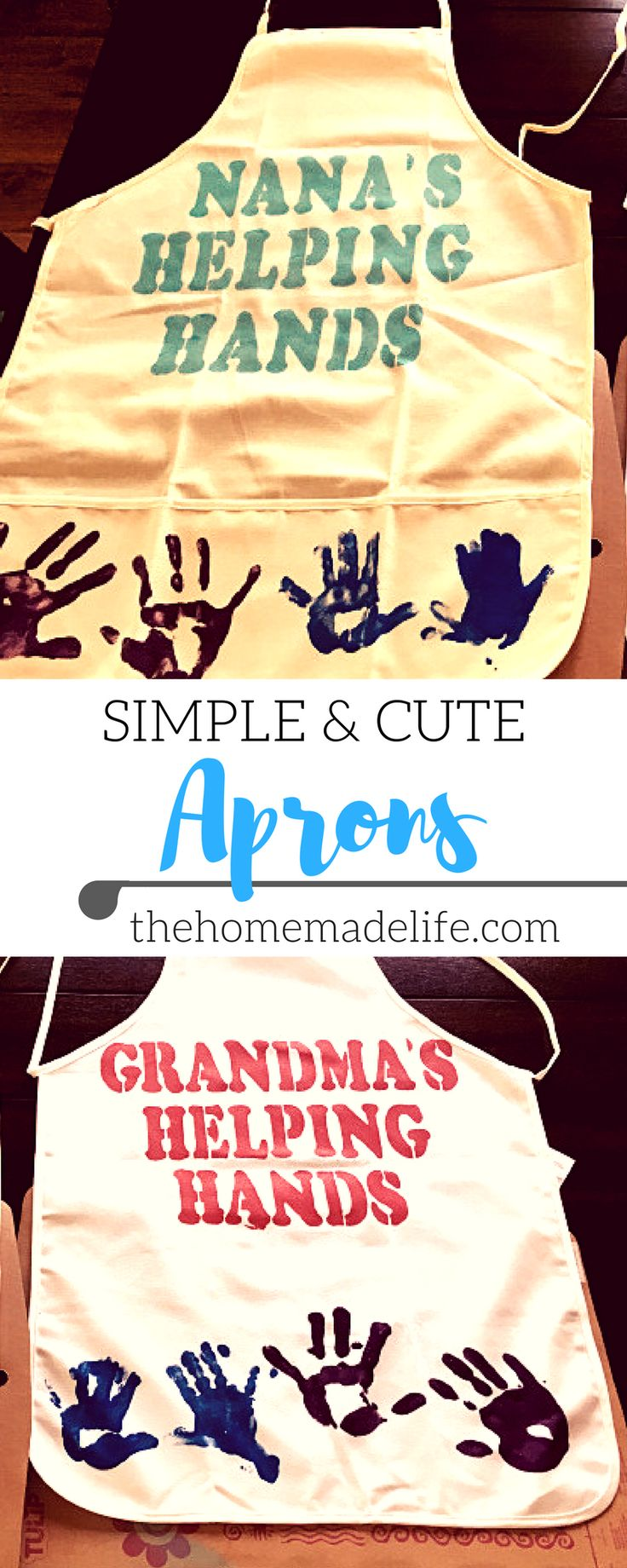 Learn How To Make These Simple And Cute Homemade Aprons Your Littles Will  Have So