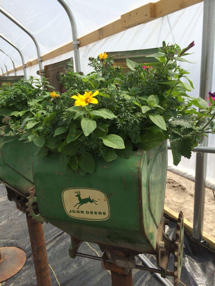 John Deere Flower Pots : Best images about john deere on pinterest old