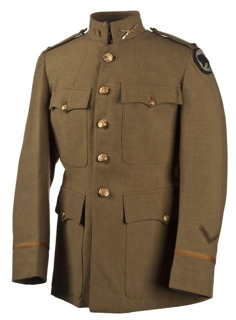 US Army infantry lieutenant's dress uniform, 1917-18 ... - photo #45