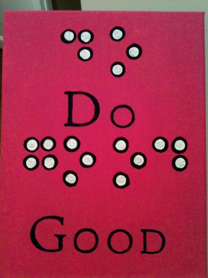 Do Good In Braille For Service For Sight! I'm Not A DG