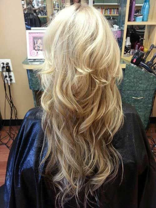 beautiful hair styles for hair 1000 ideas about layered cuts on medium 5585