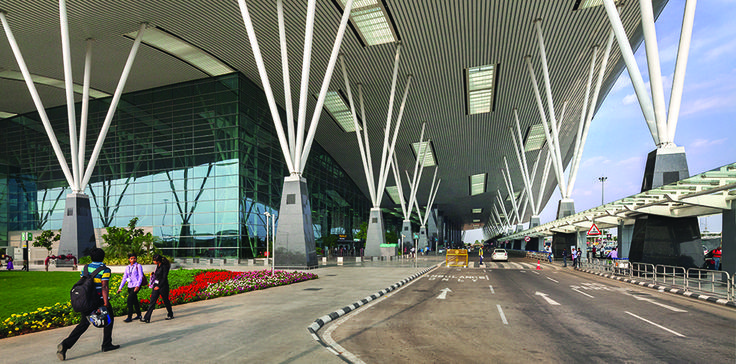 HOK's striking expansion to Kempegowda International Airport Terminal 1 strengthens Bengaluru's position as the international gateway to Southern India.