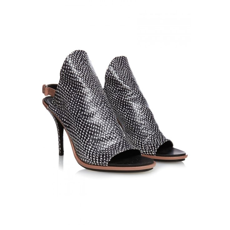 Balenciaga Embossed Leather Glove Mules; Size: 39.5; Price: 155£ sur @covetique