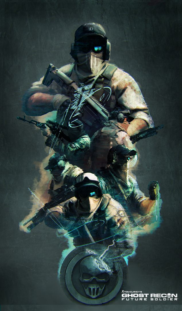 Ghost+Recon+Future+Soldier+Official+Art+#1+by+DarkApp ...