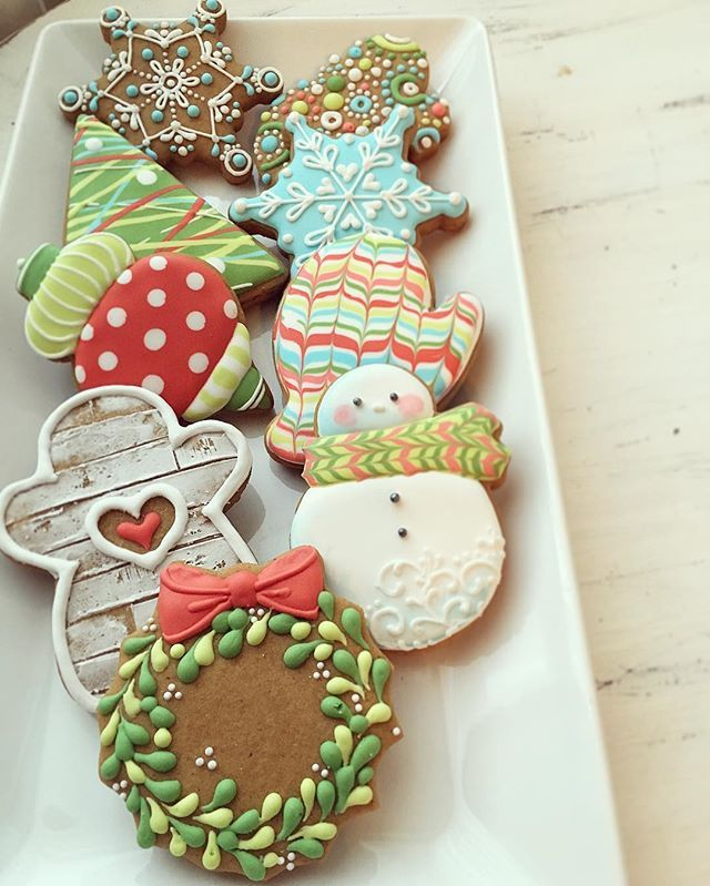 1691 best cookies Christmas images on Pinterest | Decorated ...
