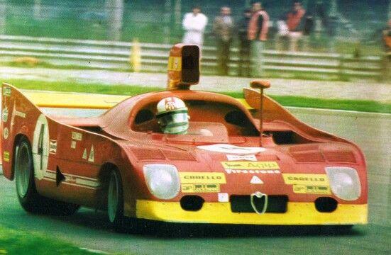 Rolf Stommelen Alfa Romeo 33TT12  1000kms Monza 1974