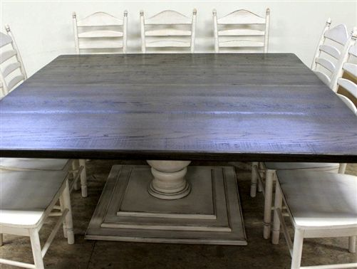 Best Tables Images On Pinterest Home Kitchen And Wood - Large square dining table