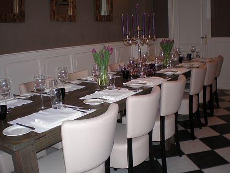 leuk restaurant in de den Haag aan de gracht!