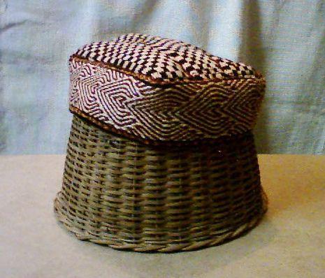 Tablet woven prayer cap