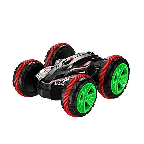 Fstgd Rc Car Amphibious Off-road Electric Vehicle 2.4ghz 4wd Double Sided Remote Control Car All Terrain Stunt Truck With 360 Degree Spins And Flips