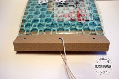 """Hobby di Carta - Il blog: PROGETTO DEL MESE:"""" Mini-album winter 2008"""" by Paola"""