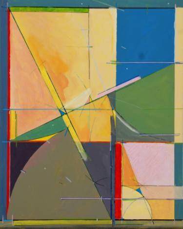 """Saatchi Art Artist Michael Newman; Painting, """"Golden Section One"""" #art"""