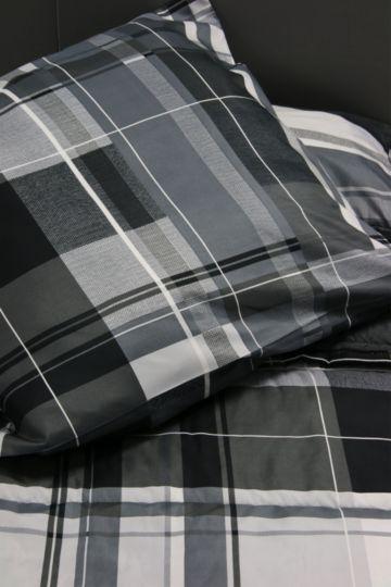 Printed Comforter Check Bale Set