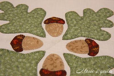 Marie's quilts: Машинная аппликация