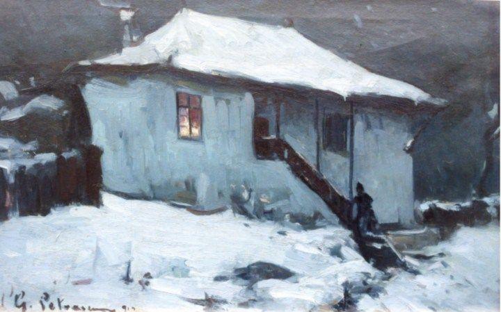 Iarnă grea - Gheorghe Petrașcu - Cerca con Google