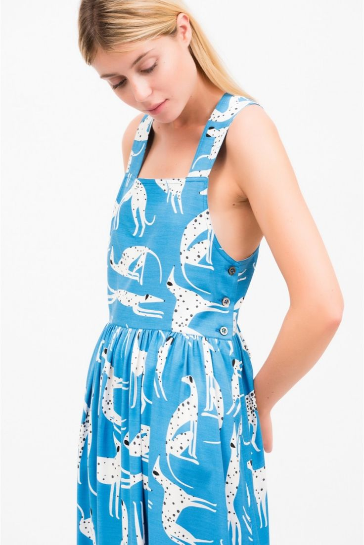 Robe dalmatie robe femme  - paul and joe 4