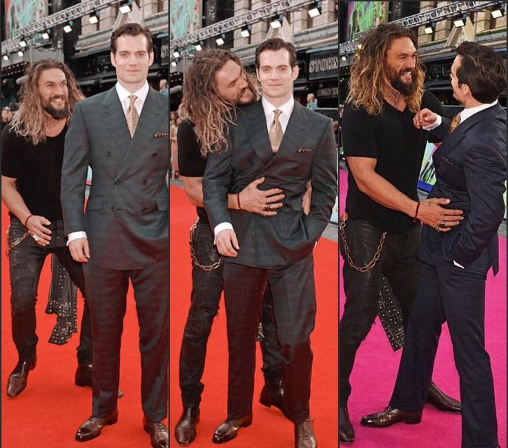 Aquaman travolting Superman's moment on the red carpet. #Follow Me #CooliPhone6Case on Twitter Facebook Google Instagram LinkedIn Blogger Youtube