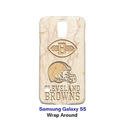 Cleveland Browns Style Marble Case for Samsung Galaxy S5