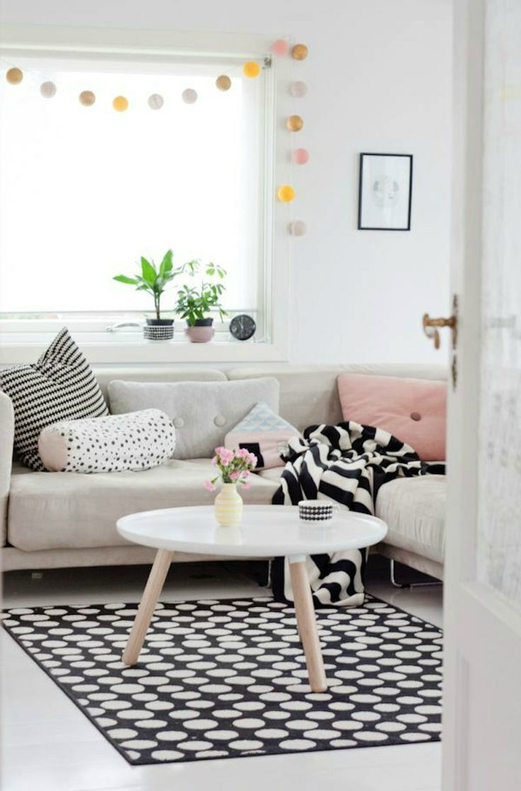 Incorporating light pastel colors is the perfect way to add a dash of summer into your home.