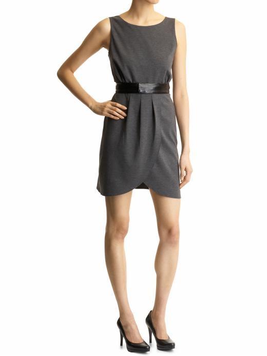 Grey Petal Dress