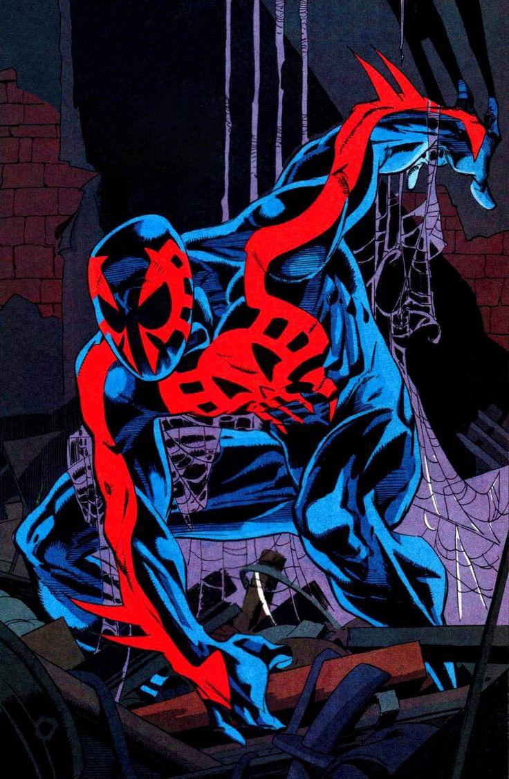 Spider-Man 2099 by Rick Leonardi ||| I'd accept that