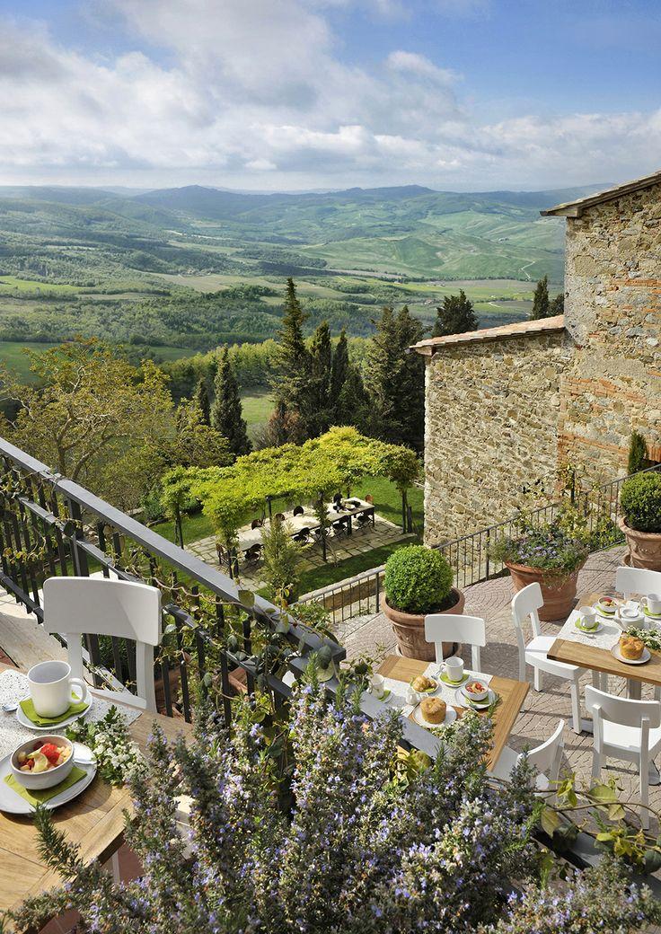 Monteverdi Villas & Hotel - village of Castiglioncello del Trinoro, Tuscany, Italy Florence Hotel Interior Designs