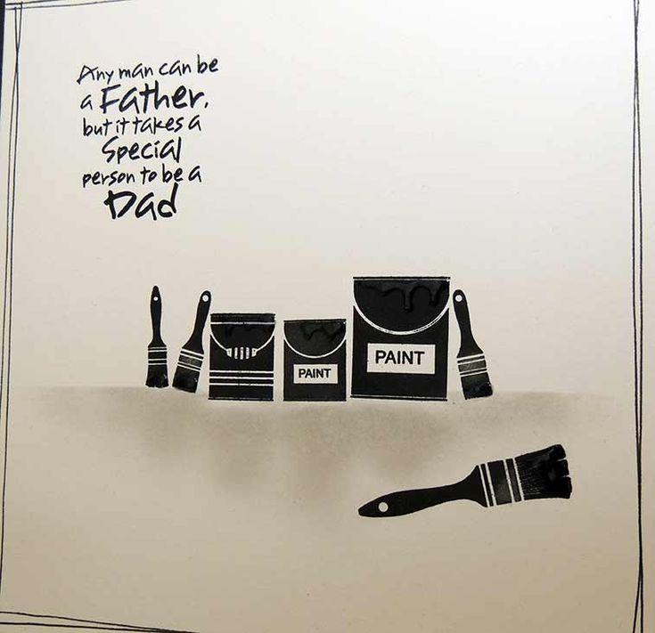 Paint it Black Dad