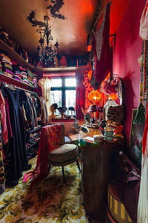 Boho Dressing Room from FB Moonbeams and Mayhem