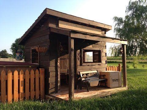 Mini Haus aus holz selber bauen. Haus bauen aus holz. Haus selber ...