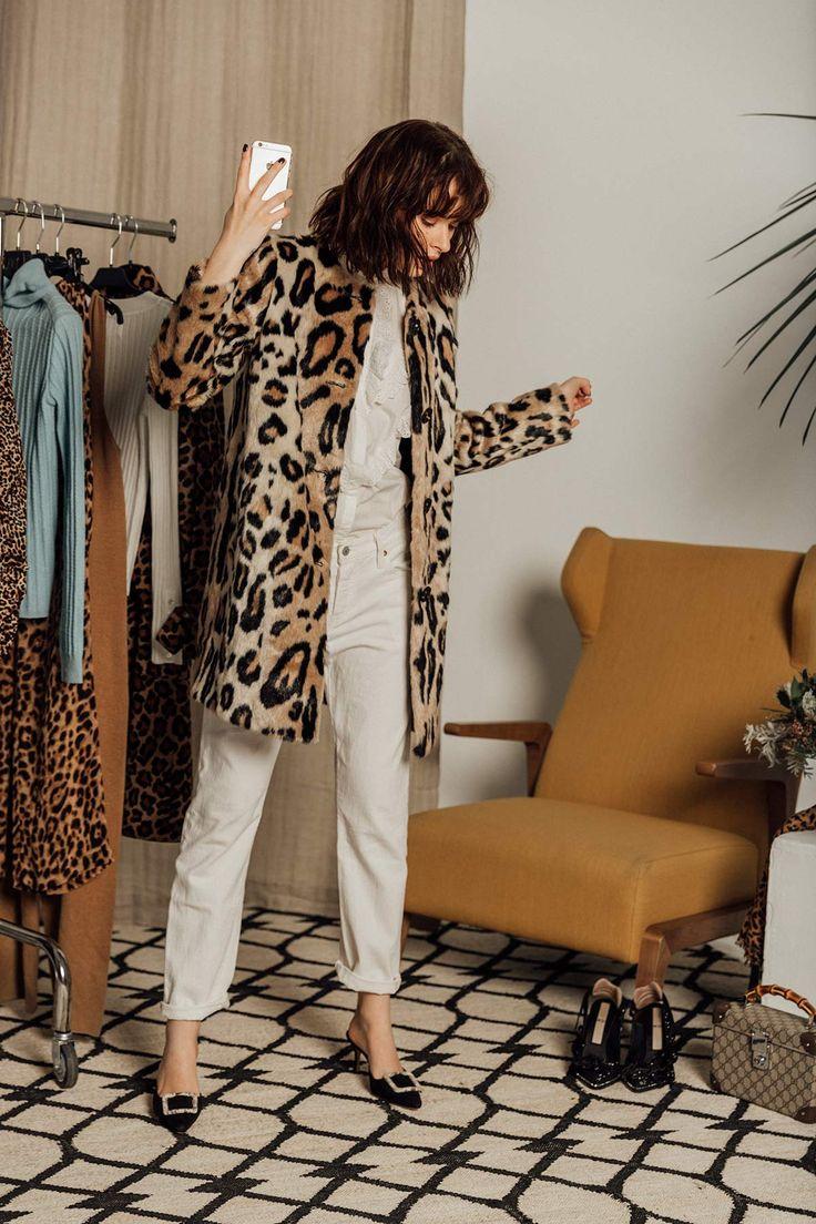 En el probador… 8 formas de combinar el estampado de leopardo: en un abrigo cl... 2