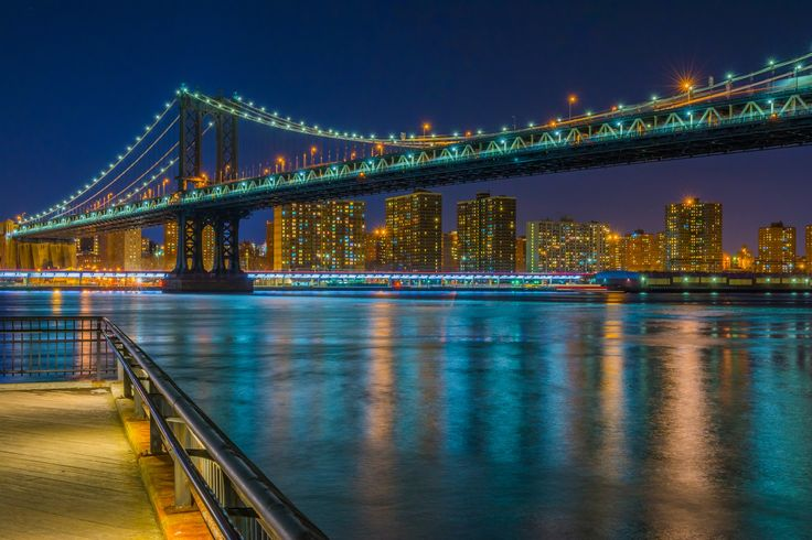 Фотография Manhattan Bridge автор Shyam Suyambu на 500px