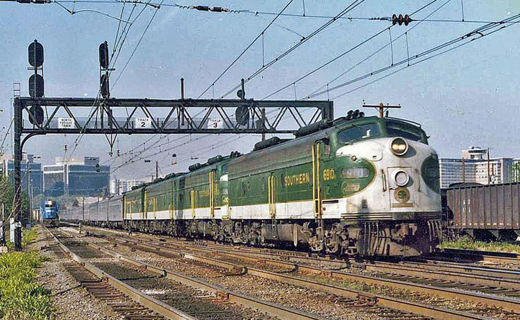 TrainsMag.com When Amtrak was created in 1971, the Southern Railway, along with the Rock Island and the Denver & Rio Grande Western, opted to not join the newly formed national passenger system. The Southern Railway was therefore required to continue operating its legendary overnight Southern Crescent between Washington D.C. and New Orleans. The Southern Crescent was comprised of stainless steel coaches, sleepers and diners, and was powered by four green and white EMD E8s. The Southern ...