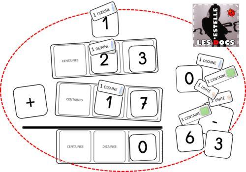 Table à calculer - Additions et soustractions en colonnes