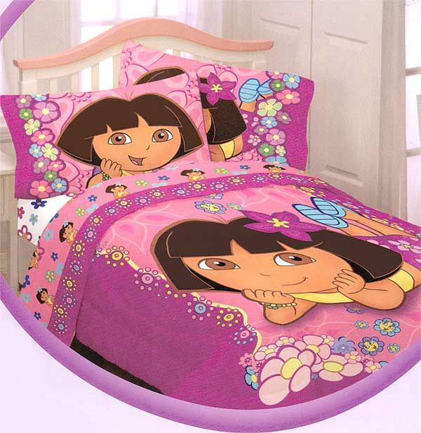 Dora The Explorer Bedroom Set Part - 23: Dora Bedroom Decorations | Dora The Explorer Bedroom Makeovers. Dora The Explorer  Bedding
