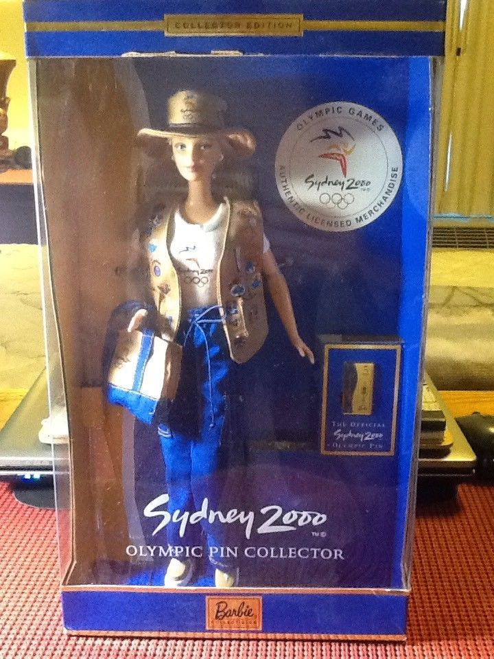 Barbie Sydney 2000 Olympic Pin Collector Mattel #Mattel #BarbieDolls