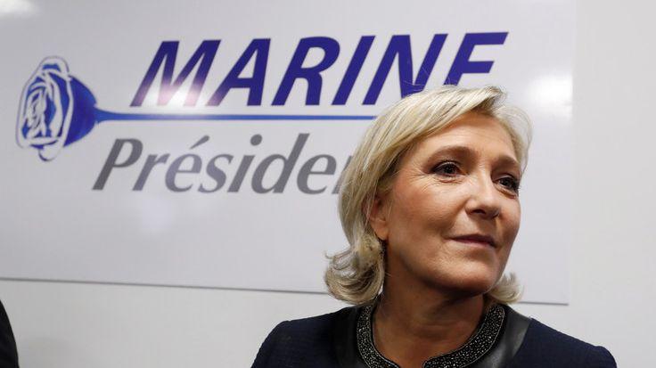 © Charles Platiau / Reuters Source: Reuters - Marine Le Pen dénonce l'obsolescence de l'OTAN crée à l'époque de l'URSS.