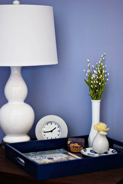 wall color = cloudberry behr