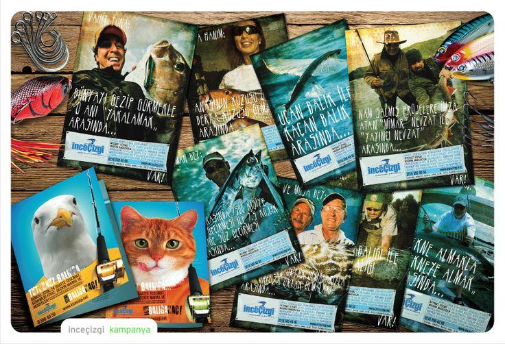 ''İnce Çizgi'' için hazırlamış olduğumuz #kampanya çalışmaları..  #creative #agency #reklam #afiş
