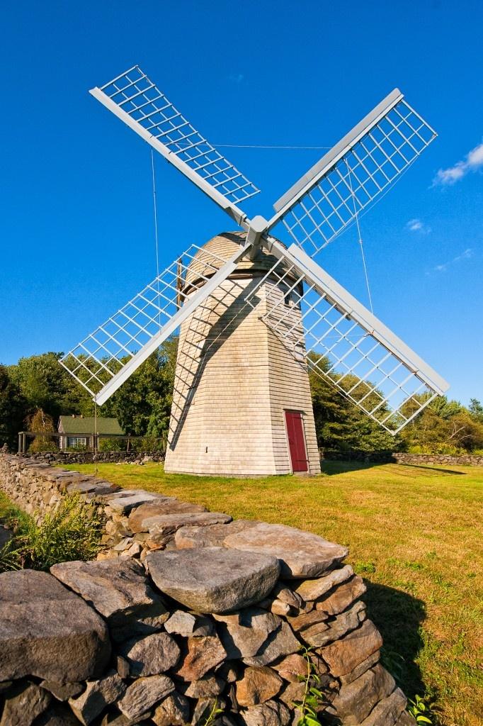 windmill, Jamestown, RI